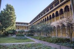 Monastery in Barcelona royalty free stock photo