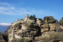 Monastery of Barlaam, Greece. Meteora. Royalty Free Stock Photography