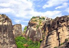 Monastery of Barlaam, Meteors, Greece. Monastery of Barlaam from Meteora, Greece Stock Images