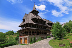 The Monastery of Barsana in Romania Stock Images