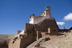 Monastery, Basgo, Ladakh, India Royalty Free Stock Photography