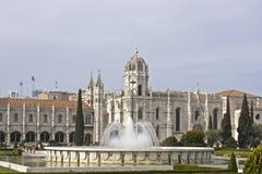 Monastery Basilica Estrela in Lisbon Portugal Stock Images