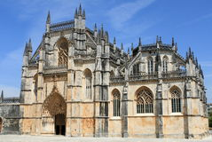 Monastery of Batalha. In Portugal royalty free stock image
