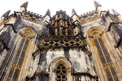 Monastery of Batalha, Batalha, Portugal Royalty Free Stock Photos