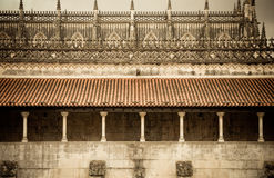 Monastery of  Batalha detail. Detail of the Monastery in Batalha in Portugal Stock Photo