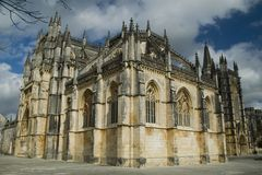 Monastery of Batalha, Portugal #2. The Monastery of Batalha, Portugal Stock Photography