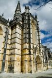 Monastery of Batalha, Portugal. A detail of the Monastery of Batalha, Portugal Royalty Free Stock Image