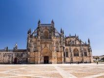 Monastery of Batalha Portuguese: Mosteiro da Batalha, a Domini Royalty Free Stock Images