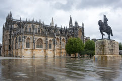 The Monastery of Batalha Royalty Free Stock Photo