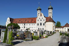 Monastery in bavaria Stock Image