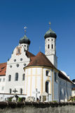 Monastery in bavaria Royalty Free Stock Image