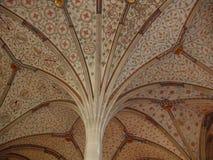 Monastery Bebenhausen. Column in the monastery Bebenhausen in Germany stock photo