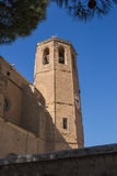 Monastery Bell-tower sunny day Royalty Free Stock Images