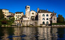 Monastery Benedictine. The building built in 1844 now houses the convent of cloistered Benedictine nuns monastery Mater Ecclesiae royalty free stock photos