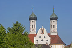 Monastery Benediktbeuern Royalty Free Stock Photo