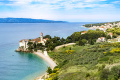 Monastery Bol Brac island Stock Image