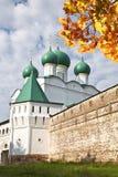 The monastery of Boris and Gleb, Church of St. Sergius of Radonezh, Royalty Free Stock Photo