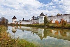 The monastery of Boris and Gleb, Yaroslavl region Stock Photos