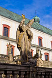 Monastery in Broumov, Czech Republic Royalty Free Stock Photo