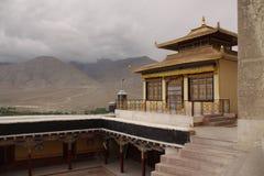 Monastery. Buddist monastery in Ladakh. India royalty free stock image