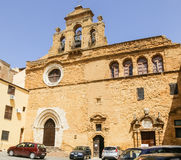 The monastery building of Spirito Santo in Agrigento, Sicily Royalty Free Stock Photo