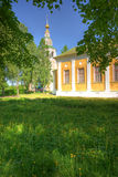 Monastery buildings Royalty Free Stock Images
