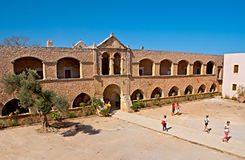 The monastery buildings Royalty Free Stock Photo