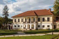 Monastery of Capriana Stock Photography