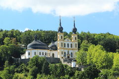 Monastery of capuchins in Wurzburg Stock Photos