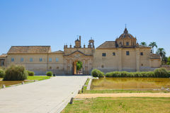 Monastery  Cartuja,  Sevilla,  Spain Royalty Free Stock Photo