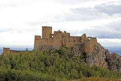 Monastery castle of Loarre (Huesca) Stock Photography