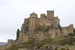 Monastery castle of Loarre (Huesca) Stock Images