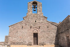 Monastery in Catalan Romanesque style Royalty Free Stock Photos