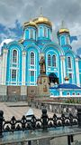 The monastery. The Cathedral in the monastery Stock Photography