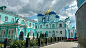 The monastery. Stock Images