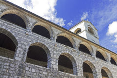 Monastery in in Centinje, Stock Photography
