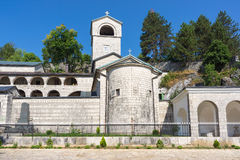 Monastery in Cetinje, Montenegro. Royalty Free Stock Photography