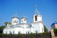 Monastery, Chisinau, Moldova. The Republic of Moldova, this seldom visited country is full of orthodox monasteries Royalty Free Stock Photos