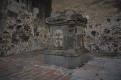 The monastery of Cholula Stock Photography
