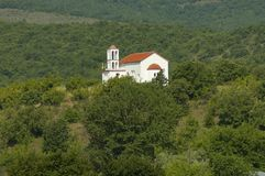 Monastery church. Royalty Free Stock Photography