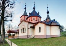 Monastery church of the Archangel Michael in Ladomirova Royalty Free Stock Image