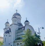 The monastery, church Casin. Bucharest, Romania Royalty Free Stock Photos