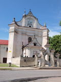 Monastery and church, Krasnobrod, Poland Stock Image
