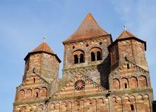 Monastery Church Marmoutier in France Stock Photo