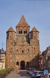 Monastery Church Marmoutier in France Royalty Free Stock Image