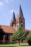 Monastery church of Neuruppin in Germany. Monastery church Saint Trinitatis in the city of Neuruppin in Brandenburg Royalty Free Stock Photo