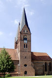 Monastery church of Neuruppin in Germany. Monastery church Saint Trinitatis in the city of Neuruppin in Brandenburg royalty free stock photography