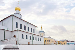 Monastery in city to Kolomna Stock Photo