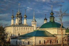 Monastery Complex in Suzdal Stock Photo