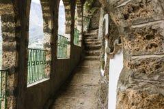 Monastery Corridor Stock Photography